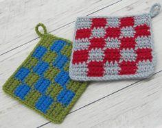 ハマナカボニーで編む シンプルエコタワシ|手編みと手芸の情報サイト あむゆーず