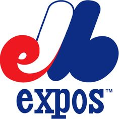 """Montreal Expos - An """"M"""" in the colors of the French flag with a lowercase """"e"""" and """"b"""" tucked in. Officially, the letters stand for Montreal Expos Baseball. Expos Baseball, Baseball Cards, Baseball Stuff, Team Logo Design, Sports Team Logos, Sports Teams, Mlb Teams, Sports, Furniture"""