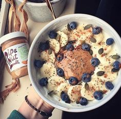 Who loves breakfast as much as we do? Especially when it involves some form of nut butter thrown into the mix! We love the look of this concoction made by Make sure you're fuelled with a proper breakfast like loumjones (Instagram(. This looks SO good!  You can buy Pip & Nut nut butter over on our website too!