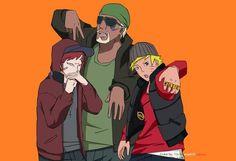 Gaara Killer Bee And Naruto