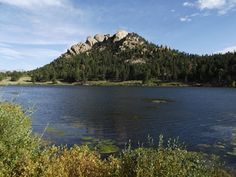 Lily Lake in Estes Park (would like to stop here for a quick .8 mile walk in winter, before snowshoeing