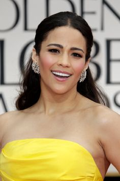 Paula Patton is an American actress. She made her film debut in Hitch (2005). She appeared in the musical film Idlewild (2006). She had her breakthrough role in Déjà Vu (2006). She also acted in the films Mirrors (2008), Swing Vote (2008), Precious (2009), Just Wright (2011), Mission: Impossible – Ghost Protocol (2011) and Jumping the Broom (2011). She is the ex-wife of Robin Thicke.