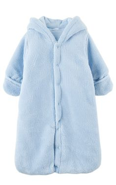 Hooded Plush Snugglebag with Ears & Mitten Cuffs, Kids Clothes at Le Top