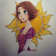 Красивейшие рисунки Дисней Принцесс, Hope Hokulani