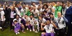 Bantai Juventus 4-1, Madrid raih tropi Liga Champions