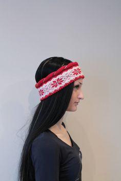 Wool Headband Earwarmer headwrap by LanaNere on Etsy