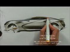 자동차 스케치 & 자동차 디자인