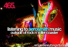 aerosmith and disney, amazing combo, even better with your best friend @Shiela Ramsey