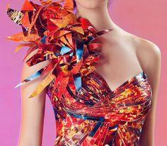 Papier (Haute) Couture by Lia Griffith