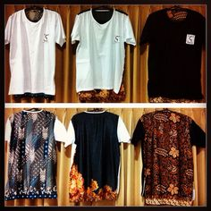 Options that you can choose . . #batik #indonesia #streetstyle #streetwear #menswear #mens
