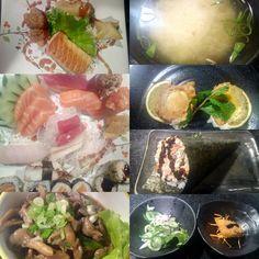 Um prato com coisas que realmente valem a pena experimentar, tudo é muito bem feito com um ou outro ingrediente que não estava muito bem feito.  #comida #restaurante #japones #gourmet #sunomono #otoshi #missoshiro #guioza #harumaki #grelhado #gohan #tempura #yakissoba #shimeji #temaki #skin #niguiri #sashimi #hossomaki #uramaki #pexie #salmao #branco #polvo #atum #molho #tare #tofu #misso #alface #XinGourmet #SumiE  Festival sem repetição - R$55 em Sumi-ê
