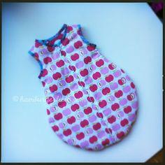 puppenschlafsack mit schnittmuster