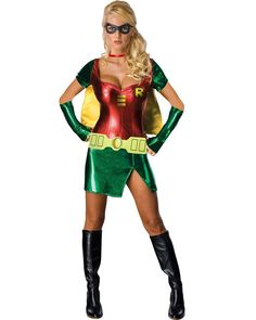 Sexy Robin Womens Costume | SUPERHEROES Perfect for a Superhero party!