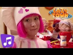 Baking a cake - song, puppets and video - Cooking By the Book - Lazy Town Cooking Recipes For Dinner, Cooking For A Group, Cooking With Kids, Fun Cooking, Cooking Classes, Cooking Ham, Cooking Ribs, Cooking Tools, Cooking Pork Roast