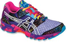 Optimized for breathability, drainage and fast transitions—Women's ASICS Gel-Noosa Tri 8 Road-Running Shoes.
