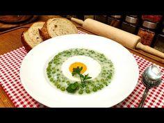 Zöldborsófőzelék/ Szoky konyhája / - YouTube Avocado Egg, Eggs, Breakfast, Ethnic Recipes, Kitchen, Youtube, Food, Morning Coffee, Cooking