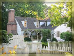 Living In Williamsburg, Virginia: Small house in Colonial Williamsburg, Williamsburg, Virginia