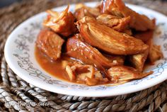 Honey Chicken (Slow Cooker)