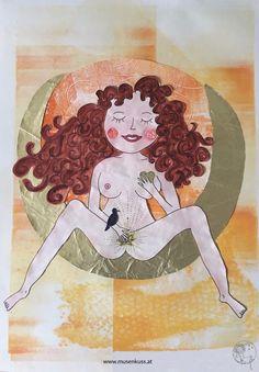 Heilung der weiblichen Sexualität - MusenKuss Muse, Tantra, Lotus, Disney Characters, Fictional Characters, Disney Princess, Art, New Start, Healing