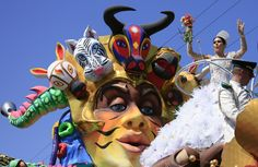El Carnaval de Barranquilla fue declarado en 2003 como Patrimonio oral e inmaterial de la Humanidad por la Unesco. (EFE)