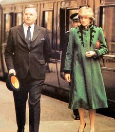 March 29, 1982: Princess Diana returning from the opening of a new wing at St. Gemma's hospice, Harrogate Road, Leeds, Bristol.