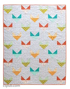 Prism, pieced by Paul Krampitz and quilted by Miriam March Excerpt from Stacy Day's Child's Play Quilts.  I Love Ladybugs, pieced by Stacey Day and quilted by Miriam March Have you noticed that once one friend, coworker, or relative announces that they are expecting, it seems like everyone else you know quickly follows suit? While making baby quilts to gift, I found myself making the same thing over and over. I wished for a collection of simple stash-friendly projec...