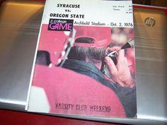1976 syracuse orange vs oregon state beavers college football program from $6.5