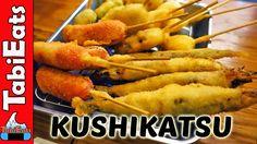 How Much Fried Food Can We Eat? Kushikatsu in Osaka Japan! #japanesefood #food #sushi #Japan #foodporn #japanese #dinner #lunch #yummy #ramen