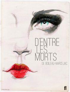 D'entre Les Morts by Laura Loveday, via Behance