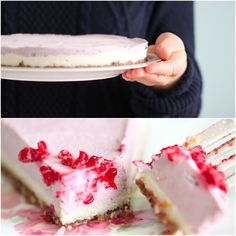 Revitalizing Raw Raspberry Vegan Cheesecake | Clean Wellness.