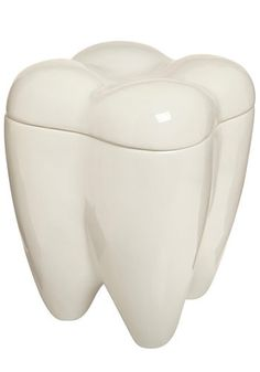Tooth cookie jar... for the ultimate sweet tooth, eh?