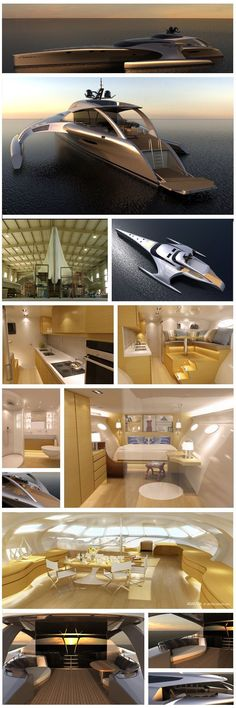 Adastra trimaran - latin for 'to the stars' designed by John Shuttleworth Yacht Designs Ltd.