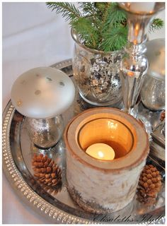 Lysfat Candle Holders, Candles, Table Decorations, Furniture, Home Decor, Tray, Decoration Home, Room Decor, Porta Velas