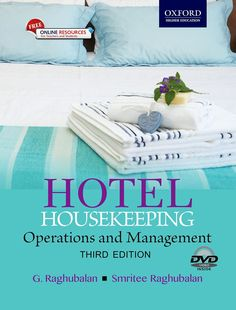 Check out our New Product  Hotel Housekeeping , Third Edition COD  AUTHOR: G. Raghubalan and Smritee RaghubalanPublication date: 17.07.2015  Rs.695