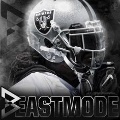 """Beast Mode ⚔️ #MarshawnLynch #BeastMode #Oakland #Oaktown #Raiders #OaklandRaiders #SilverAndBlack…"""