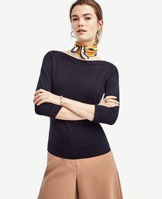Image of Petite Bateau Sweater color Navy Blue