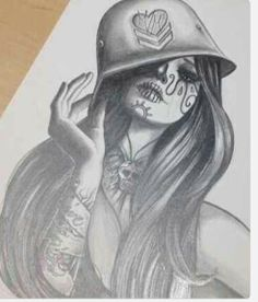 ♥ metal mulisha sketch would be awsome tattoo ♥