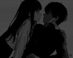 Anime Oc, Dark Anime, Otaku Anime, Anime Manga, Anime Drawings Sketches, Anime Couples Drawings, Cute Anime Couples, Anime Couples Manga, Cute Anime Profile Pictures