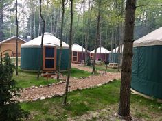 Sleep along the shores of Lake Superior at this unconventional campground. Michigan Vacations, Michigan Travel, Weekend Vacations, Family Vacations, Weekend Trips, Weekend Getaways, Traverse City Michigan, Lake Michigan, Wisconsin
