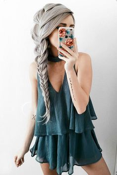 Braided Bohemian Hairstyle For Every Occasion ★ Bohemian hairstyles are nothing but the embodiment of wildness and femininity! Want your hair to look effortless and cute? Dive into our gallery to keep up with boho trends: everything from short curly updo ideas to easy long braid styles is here! #bohemianhairstyles #bohemianhair #summerhairstyles #festivalhairstyles #boho #bohostyle