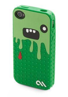 So Cute It's Scary iPhone Case | Mod Retro Vintage Electronics | ModCloth.com
