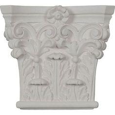 Corinthian Pilaster - Urethane Capital - #CAP07X06X02RC