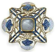 Lalique thistle brooch, c. 1905 by margo