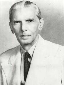 The most admired person in the whole country of Pakistan, Quaid-e-Azam Muhammad Ali Jinnah