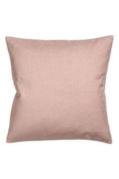 Cotton canvas cushion cover - Dusky pink - Home All H&m Home, H&m Online, Jacquard Weave, Guest Bedrooms, Cotton Canvas, Fashion Online, Bed Pillows, Pillow Cases, Kids Fashion