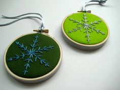 christmas ornaments - make them *tiny*