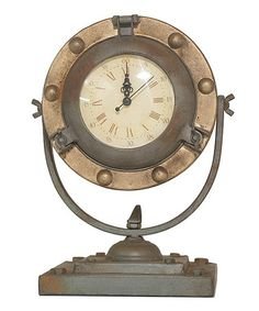 Another great find on #zulily! Antique Tabletop Clock #zulilyfinds