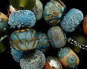 DSG perles à la main organiques Murano - sur mesure (automne croustillant)