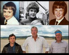 Richard Hammond, Jeremy Clarkson and James May when they were young. Amazing how time flies when you are kid. Top Gear trio photo in their youth. Top Gear Funny, Top Gear Humor, Car Humor, Top Gear Bbc, Clarkson Hammond May, James May, Jeremy Clarkson, American Version, Grand Tour