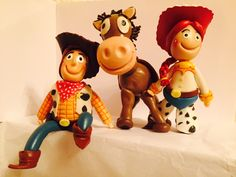 Toy story / cold porcelain